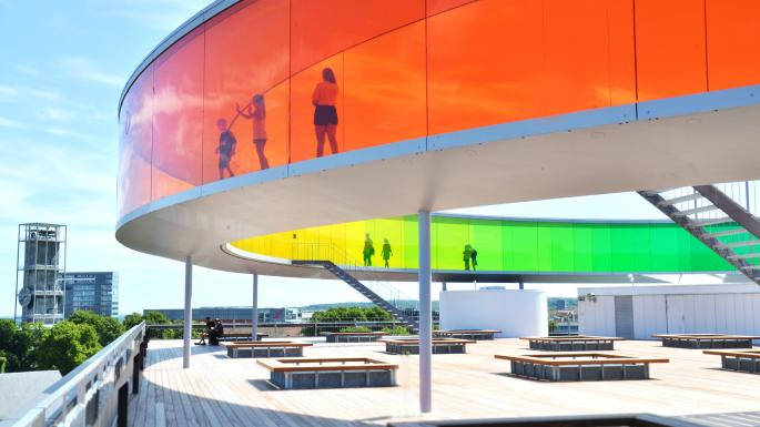 Olafur Eliasson's Your Rainbow Panorama