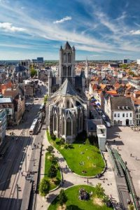 St Nicolas's Church in Ghent